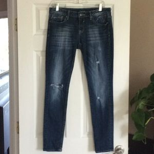 Vigoss Distressed Jagger Skinny Jeans, Size 30